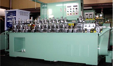 stainless steel tube - forming and welding machine